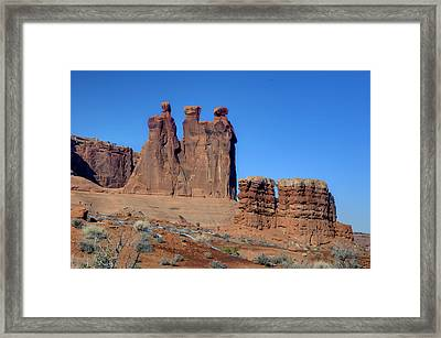 3 Sisters Framed Print by Paul Cannon
