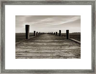 Sol Legare Dock Framed Print by Dustin K Ryan