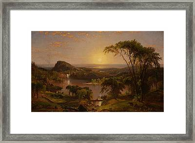 Summer Lake Ontario Framed Print by Jasper Francis Cropsey
