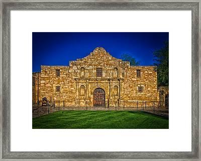 The Alamo Framed Print by Mountain Dreams