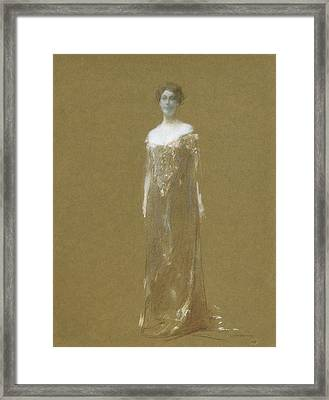 The Evening Dress Framed Print by Thomas Wilmer