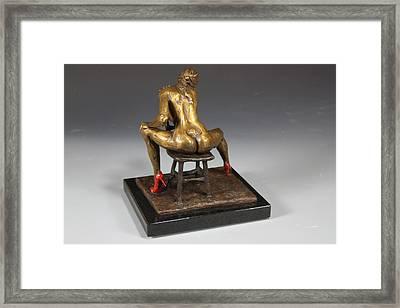 The Red Heels Framed Print by Dan Earle