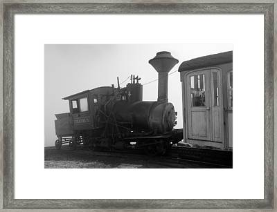 Train Framed Print by Sebastian Musial