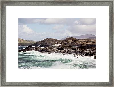 Valentia Island Lighthouse Framed Print by Scott Pellegrin