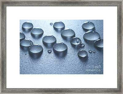 Water Drops Framed Print by Blink Images
