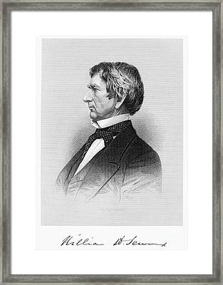 William Seward (1801-1872) Framed Print by Granger