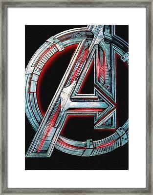 Ultimate Avengers Framed Print by Egor Vysockiy