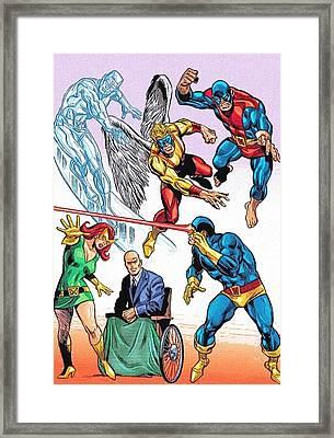 Avengers New Poster Framed Print by Egor Vysockiy