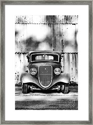 33 Ford V8 Framed Print by Tim Gainey