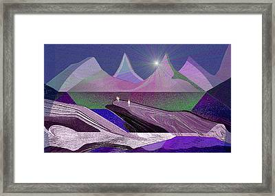 334 - Rocks Framed Print by Irmgard Schoendorf Welch
