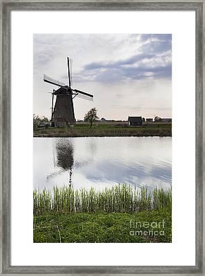 Mills In Netherlands Framed Print by Andre Goncalves