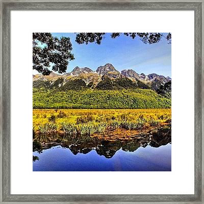 Instagram Photo Framed Print by Tommy Tjahjono