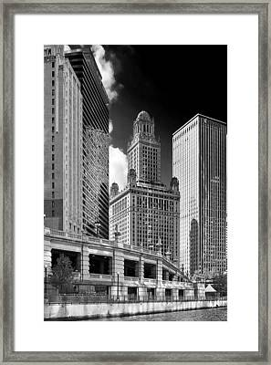 35 East Wacker Chicago - Jewelers Building Framed Print by Christine Till