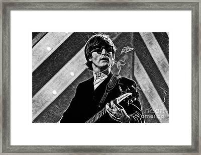 John Lennon Collection Framed Print by Marvin Blaine
