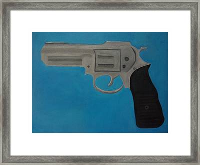 357 Magnum Framed Print by Patrice Tullai