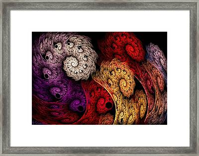 36-rolled Up Framed Print by Silvia Giussani