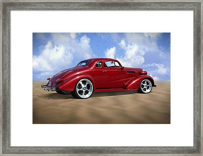 37 Chevy Coupe Framed Print by Mike McGlothlen