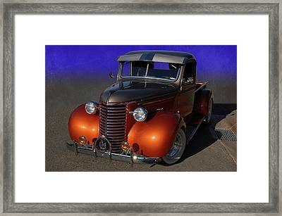 39 Chevy Pickup Framed Print by Bill Dutting