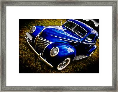 39 Ford V8 Coupe Framed Print by Phil 'motography' Clark