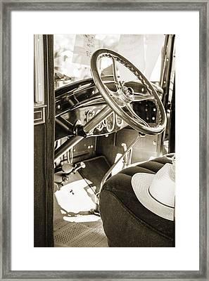 1924 Buick Duchess Antique Vintage Photograph Fine Art Prints 114 Framed Print by M K  Miller
