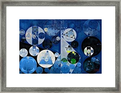 Abstract Painting - Heather Framed Print by Vitaliy Gladkiy
