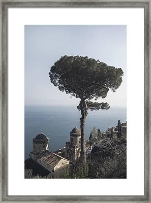 Amalfi Coast Framed Print by Joana Kruse