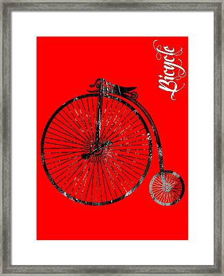 Bicycle Collection Framed Print by Marvin Blaine