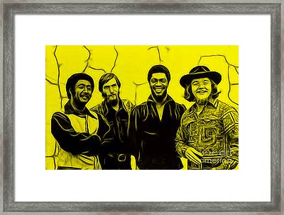 Booker T. And The M.g's Framed Print by Marvin Blaine