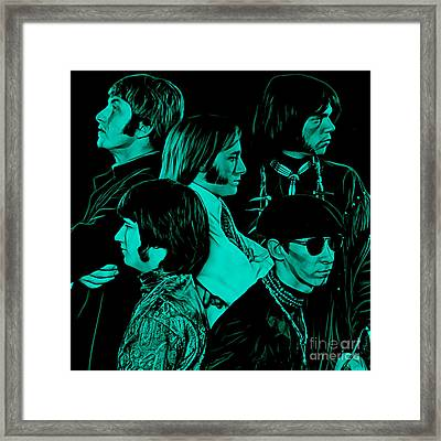 Buffalo Springfield Collection Framed Print by Marvin Blaine