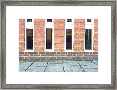 Building Detail Framed Print by Tom Gowanlock