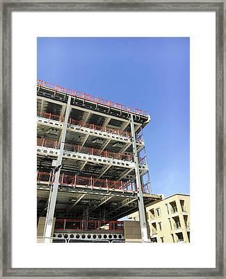 Building Site Framed Print by Tom Gowanlock
