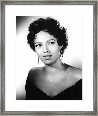 Carmen Jones, Dorothy Dandridge, 1954 Framed Print by Everett