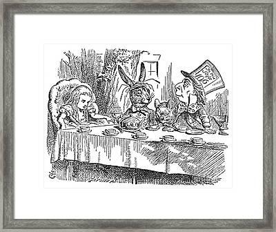 Carroll: Alice, 1865 Framed Print by Granger