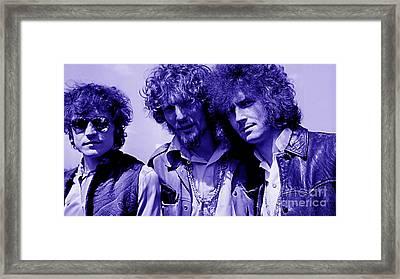 Cream Eric Clapton Jack Bruce Ginger Baker Framed Print by Marvin Blaine