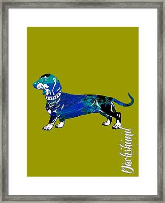 Dachshund Collection Framed Print by Marvin Blaine