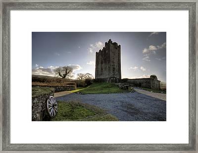 Dysert O Dea Castle Framed Print by John Quinn