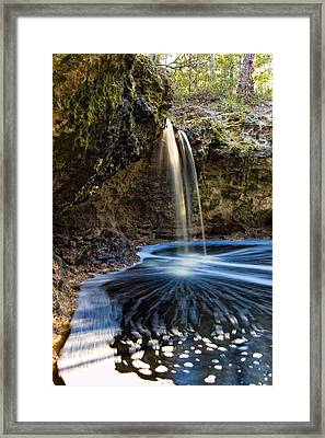 Falling Creek Falls Framed Print by Rich Leighton