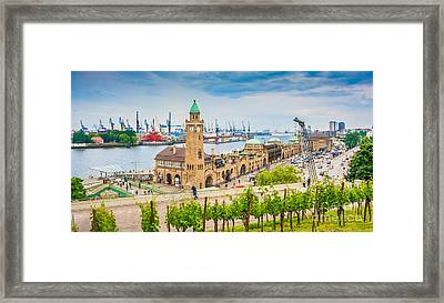 Hamburg Framed Print by JR Photography