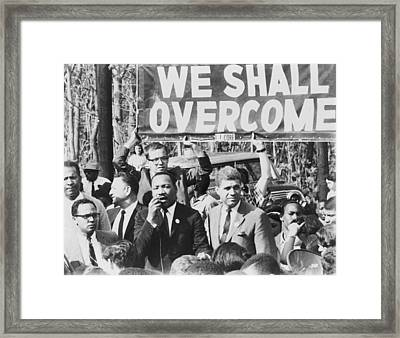 Martin Luther King, Jr. 1929-1968 Framed Print by Everett