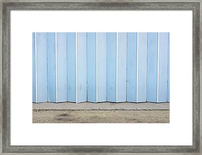 Metal Door Framed Print by Tom Gowanlock