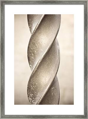 Metal Spiral Framed Print by Tom Gowanlock