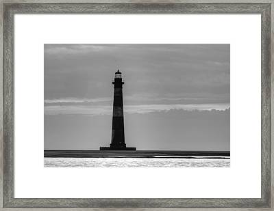 Morris Island Lighthouse Framed Print by Dustin K Ryan