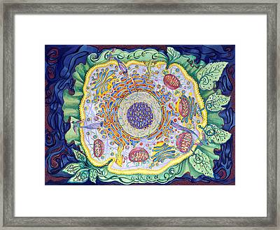 Ode To The Eukaryote Framed Print by Shoshanah Dubiner