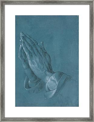 Praying Hands Framed Print by Albrecht Durer