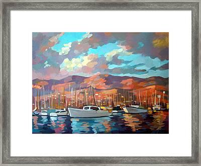 Santa Barbara Framed Print by Filip Mihail