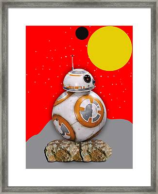 Star Wars Bb8 Collection Framed Print by Marvin Blaine