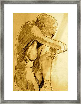 Studio Sketch Framed Print by Dan Earle