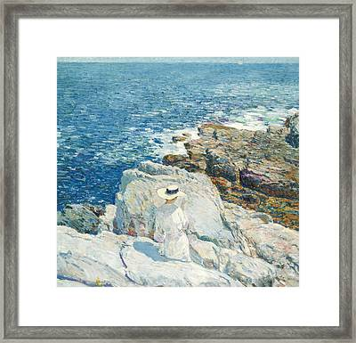The South Ledges, Appledore Framed Print by Childe Hassam