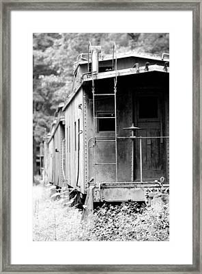 Train Framed Print by Sebastian Musial