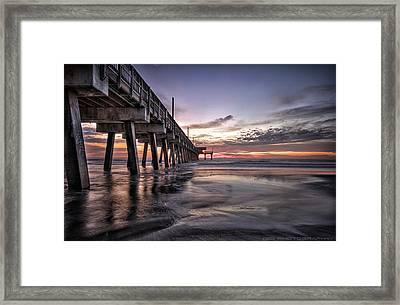 Tybee Island Framed Print by Gagan  Dhiman